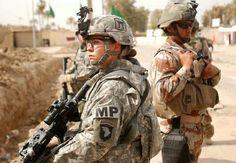 US Airborne MP