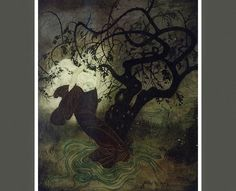 Dark Roasted Blend: Enchanting Victorian Fairy Tale Art