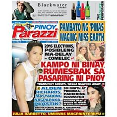 Pinoy Parazzi Vol 9 Issue 2 – December 7 – 8, 2015 http://www.pinoyparazzi.com/pinoy-parazzi-vol-9-issue-2-december-7-8-2015/