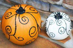Cute Halloween pumpkins