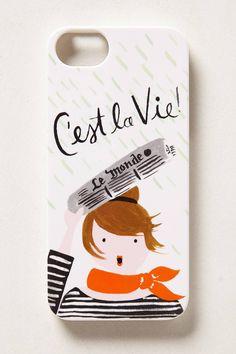 Cute C'est La Vie iPhone Case