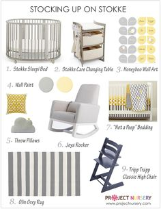 Ultimate Giveaway: Styling with Stokke | Project Nursery