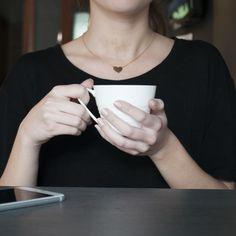 Sahara Tea: Enjoying a cup of tea!