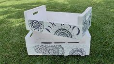 ¿Conoces la técnica de decorado de zetangle art? Cuando la pongas en práctica con unas cajas no pararás de hacerla.