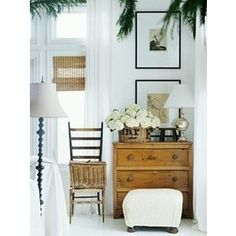 Great look for cottage decorating