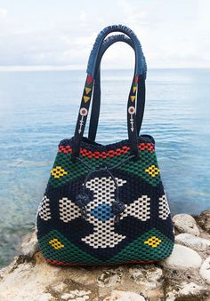 Tory Burch Woven Large Drawstring Tote