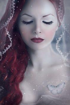 Vivienne in the winter