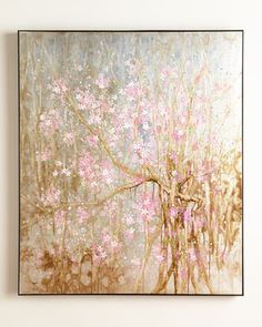 """Plum Blossom"" Painting by John-Richard Collection at Neiman Marcus."