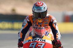 "Aragon GP WUP - Marc Marquez ""Power On"" Helmet"