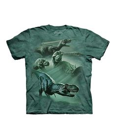 Another great find on #zulily! The Mountain Green Dinosaur Tribute Tee - Toddler & Kids by The Mountain #zulilyfinds