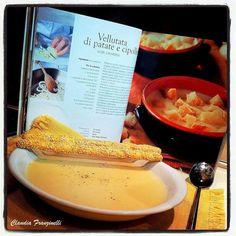 Vellutata di patate e cipolle #food #foodporn #break #likealways #love #handmade #idee #lunch #good #sunday #dinner #breakfast #roncocalino #assortment