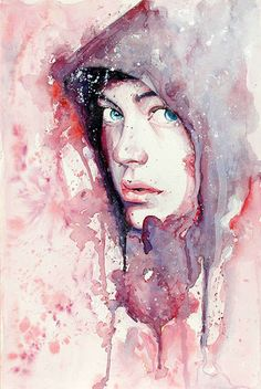 Dripping Portraits: Molly Brill Masters The Art Of Emotional Water Colors