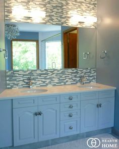 See the gallery item Ensuite Renovation - Westgate by Renovations by Hearth and Home. Driving Force, Porcelain Floor, Hearth And Home, All Nature, Quartz Countertops, Healer, Calgary, Home Renovation, Calming