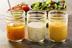 8 recettes de sauces et vinaigrettes minceur