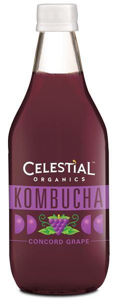 NEW Celestial Organics Kombucha: Concord Grape! http://www.celestialseasonings.com/products/kombucha/concord-grape
