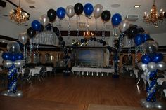 Balloon Dance Floor Canopy is a greate way to invite your guests onto the dance floor!