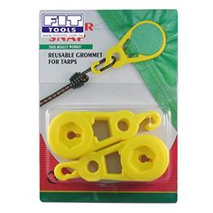 FIT TOOLS Super Heavy Duty Tarp Snap Clamp Clip for Tent Pack of 4 ** Want additional info? Click on the image.