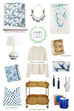 Comfy Cozy Couture: Rainy Day Blues Wish list