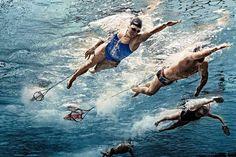 """Hoy quiero presentarte """"11Claves para nadar más rápido que nunca""""Las cuales deberás implementar en tu forma de entrenar, si lo que deseas es nadar mejor"""