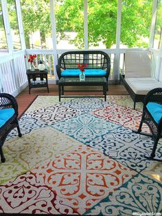 Outdoor Screened Porch