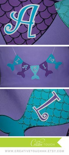 Mermaid Birthday Party, Mermaid Birthday, Mermaid Party, The Little Mermaid…