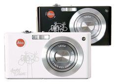 Série limitée à 30 exemplaires Leica C-Lux 3 pour Colette par l'artiste André. #leica