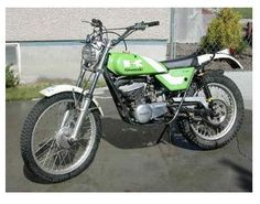 Vintage Dirt Bikes   vintage kawasaki dirt bikes old, prime, rare, offroad motorcycles.