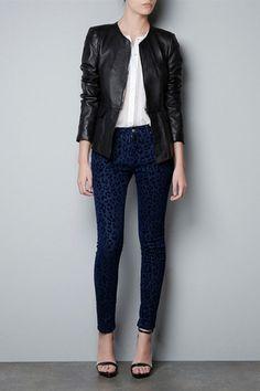 Black Round Neck Long Sleeve PU Leather Coat, #Wendybox