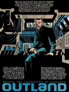 Read Jim Steranko's OUTLAND Adaptation | Forces of Geek: the only pop culture site that matters Comic Book Artists, Comic Artist, Comic Books Art, Jim Steranko, Comic Book Panels, Space Movies, Greg Capullo, High Noon, Manga