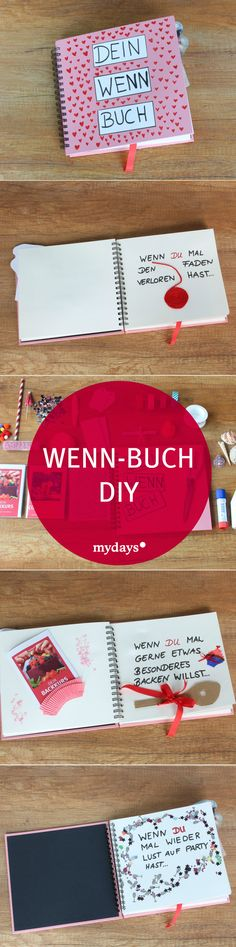 Wenn Buch basteln – 8 kreative Ideen Your favorite human is having a birthday soon and you want to give Him a very special gift? Make a book for him, because it gives you many unique moments and memories. More about this in the mydays magazine. Cadeau Surprise, Diy Cadeau, Diy Tumblr, Diy Gifts For Friends, Book Making, Boyfriend Gifts, Diy For Kids, Special Gifts, Christmas Diy