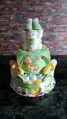 Gâteau de couches pour garcon                              …