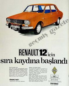 Renault 12 Fiat Panda, Fiat 600, Audi, Bmw Autos, Suv Cars, Limousine, Car Advertising, Old Ads, Back To The Future