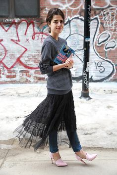 20 Ways to Make Tulle Skirts Look Incredibly Chic   StyleCaster
