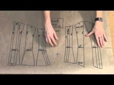 How to Grade up a Corset Pattern Draft to Fit the Client