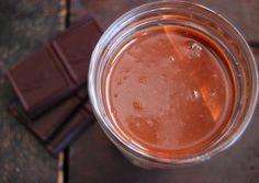 Paleo Hot Chocolate - seductive hot chocolate Merlot with Cayanne