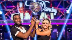 Despite having no professional dance training, Ore and his partner Joanne Clifton beat Louise Redknapp and Danny Mac to be named the winner, despite the fact he was the bookmakers outsider, Joanne Clifton, Strictly Come Dancing 2016, Gorka Marquez, Claudia Winkleman, Louise Redknapp, Phillip Schofield, London Now, Good Morning Britain, Dance Training
