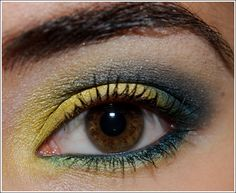 Nice color combo. I would add a bit of eye liner.