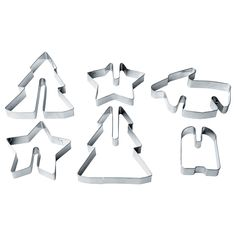 IKEA - VINTER 2015, Pastry cutter, set of 6, You can join the pieces together to make a standing cookie.Use your creativity and make baking a fun hobby by decorating your cookie shapes with icing and candy.