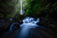 Munduk Waterfall  | Laangan waterfalls in the Munduk hills of central Bali, Indonesia