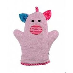 Zoocchini Bath Mitt - Pinky the Piglet makes bath time fun! Can be used for washing up or for fun puppet play. Best Bath, Cute Faces, Backrest Pillow, Bath Time, Washing Clothes, Bath Towels, Puppets, More Fun, Car Seats