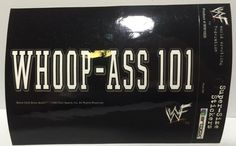 (TAS030079) - 1998 ArtBox Sticker WWF Wrestling Stone Cold Steve Austin