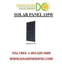Solar Panel Panneau Solaire PV 135 Watt 135W mono 12 Volt MC4 cable Grade A RV; on ebay