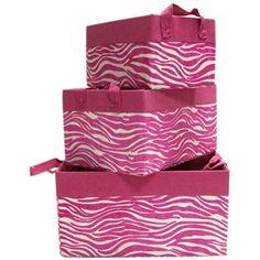 http://shop.hobbylobby.com/products/pink-zebra-storage-box-set-912303/