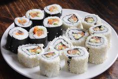 Selbstgemachtes Sushi - Nigiri, Maki und InsideOut