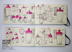 Innovative Workshop by maxence couthier, via Behance