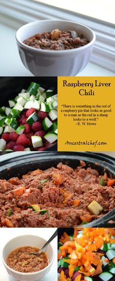 Paleo Raspberry Liver Chili