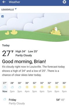 You can stay in the loop weather-wise, with the social media giant's new forecast app for your newsfeed. New Mobile, Mobile App, Weather Data, Block Area, Clear Sky, Weather Forecast, Today Show, Your Voice, Press Release