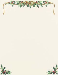 free holiday stationery templates - 1000 images about christmas letterhead on pinterest