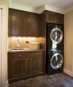 Functional laundry room!