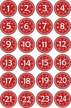 Christmas Tree Advent Calendar, Christmas Journal, Diy Advent Calendar, Diy Christmas Gifts, Christmas Holidays, Calendar Numbers, Calendar Stickers, Number Stickers, Star Stickers